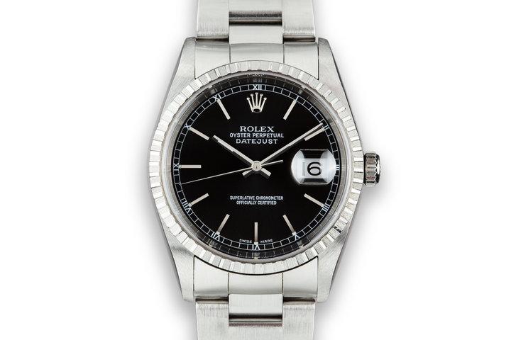 2003 Rolex DateJust 16220 Black Dial photo