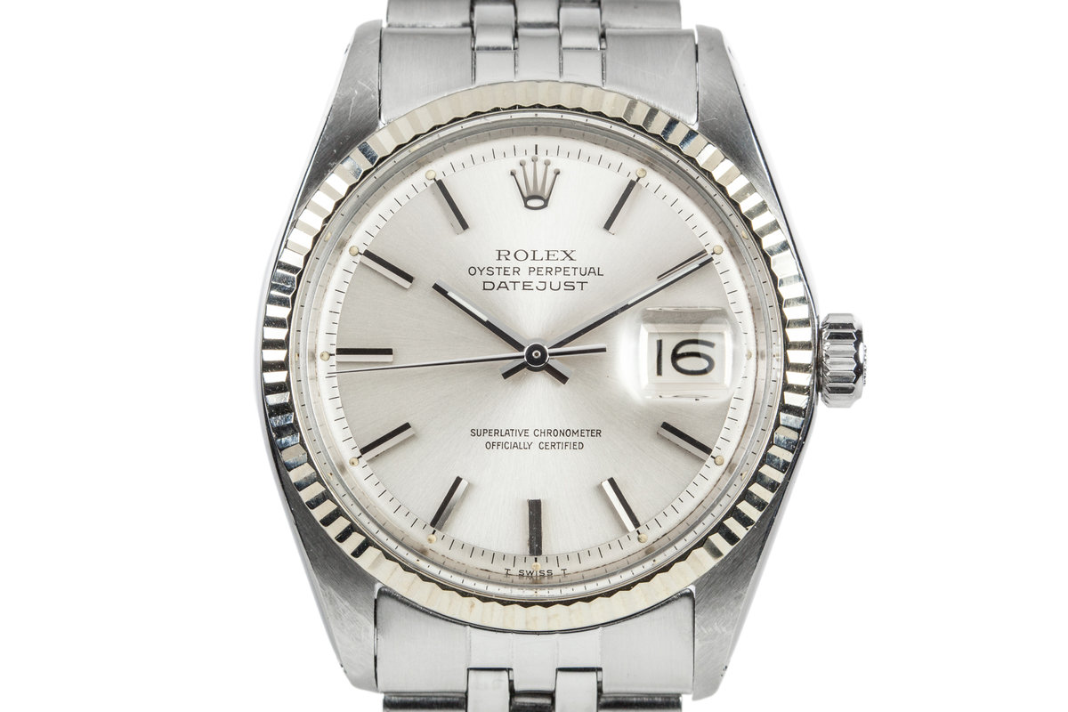 1971 Rolex DateJust 1601 Silver Dial photo, #0