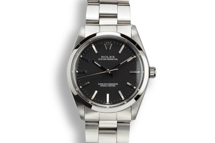 1969 Rolex Oyster Perpetual Black Dial photo