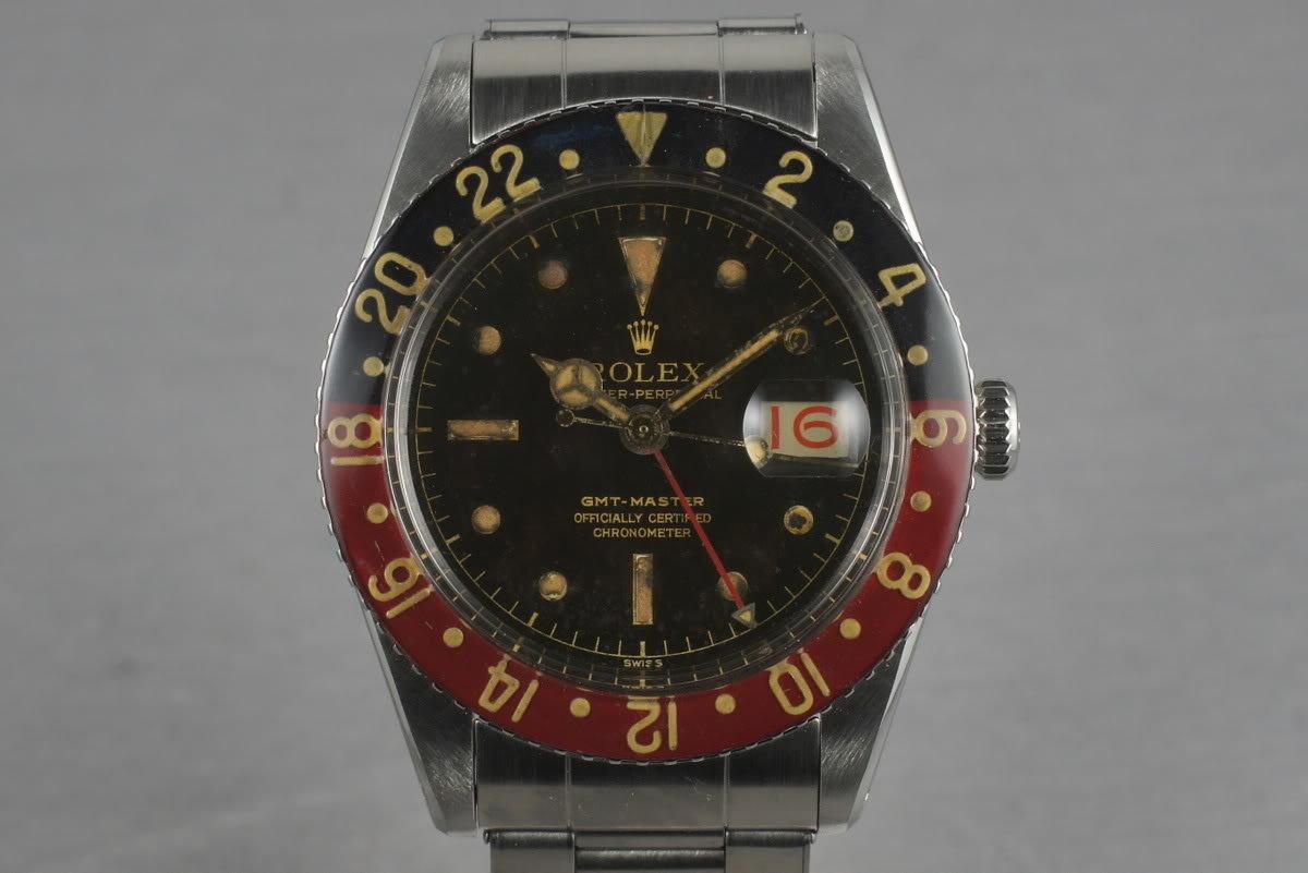 1959 Rolex GMT 6542 with Bakelite Bezel photo, #0