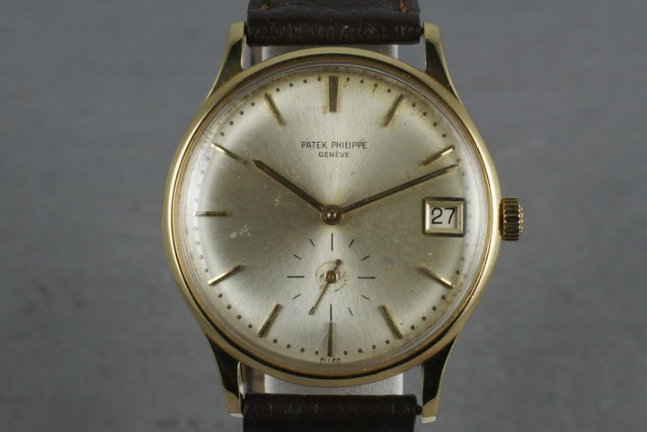 Patek Philippe Vintage Calatrava 3514  with Archive Papers photo