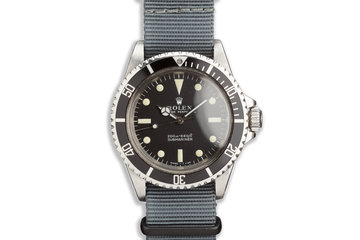 1967 Vintage Rolex Submariner 5513 photo