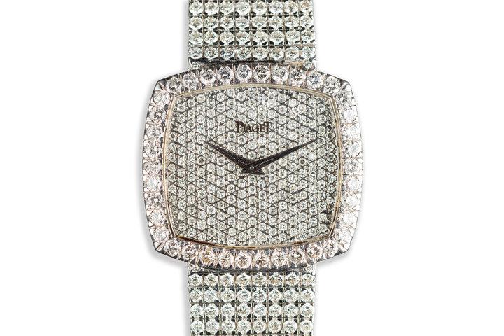 Piaget 18K White Gold with 16 Carat of Diamonds photo