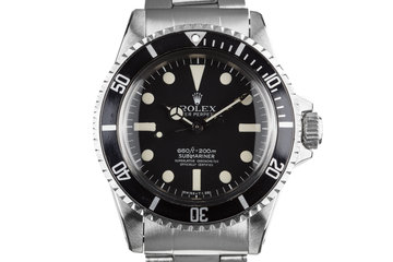 1977 Rolex Submariner 5512 with Mark 1 Maxi Dial photo