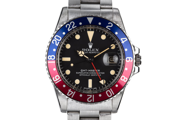 """1977 Rolex GMT-Master 1675 """"Pepsi"""" with Box and Booklets photo"""