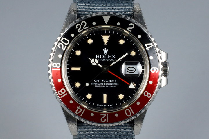 1988 Rolex Fat Lady GMT II 16760 photo