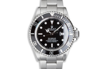2002 Rolex Sea-Dweller 16600 with Box & Papers photo