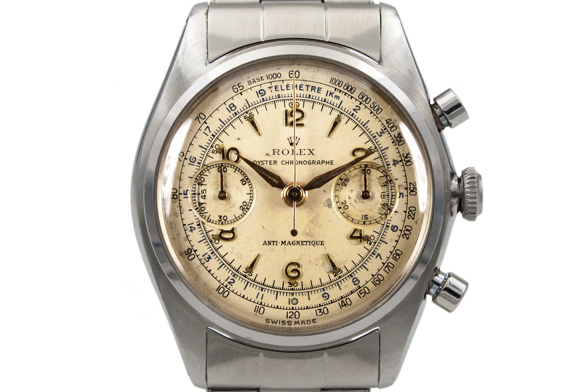 1946 Rolex Oyster Chronographe Ref: 4500 photo, #0