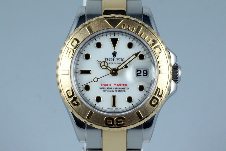 2004 Rolex Ladies Two Tone Yacht-Master 169623 photo