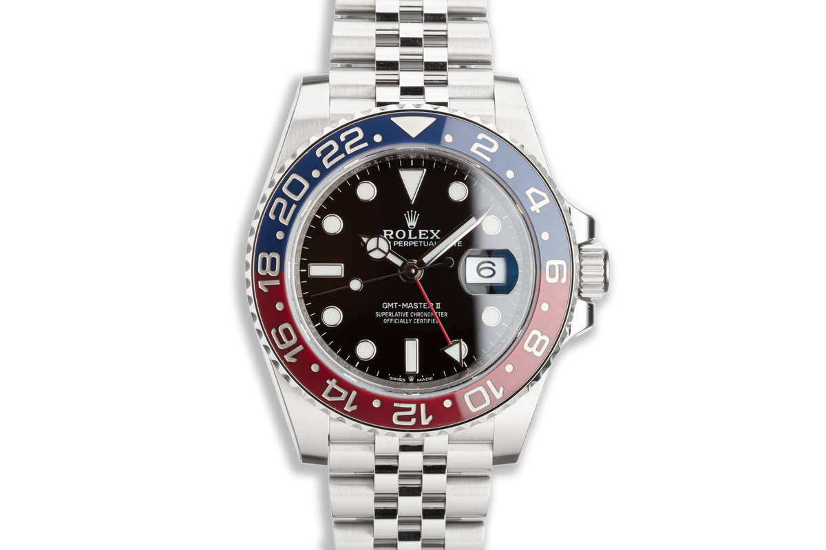 2018 Rolex GMT-Master II 126710BLRO Full stickers with Box and Card photo, #0