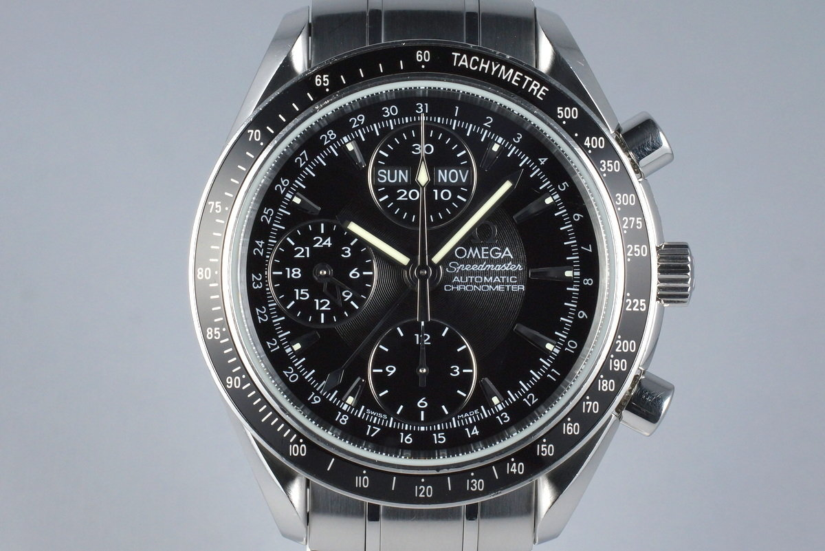 2008 Omega Speedmaster Reduced Triple Date 3220.50 with Card photo, #0
