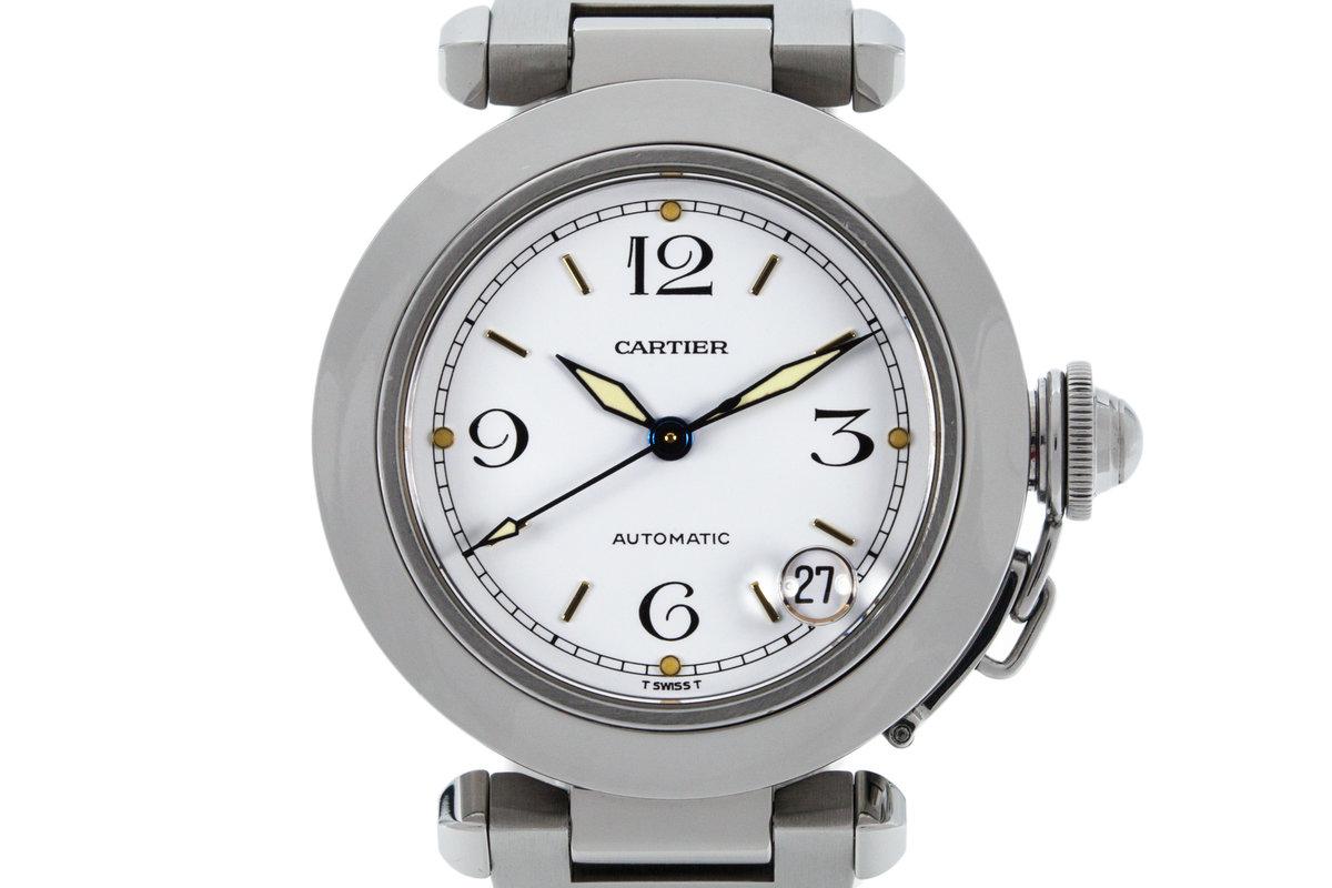 3b4d5014384c7 HQ Milton - Cartier Pasha 'C' 2324 White Dial, Inventory #8315