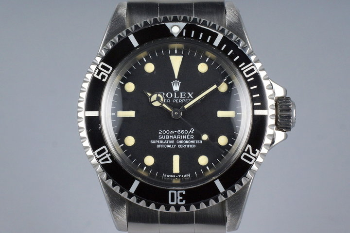 1967 Rolex Submariner 5512 4 Line Dial photo