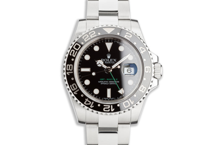 2014 GMT-Master II 116710LN Black Bezel with Box and Card photo
