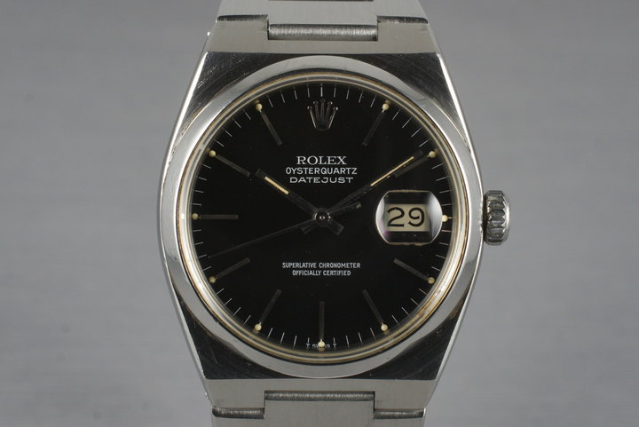 1980 Rolex OysterQuartz Datejust Ref: 17000 photo