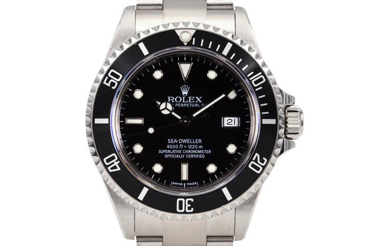 2003 Rolex Sea Dweller 16600 photo