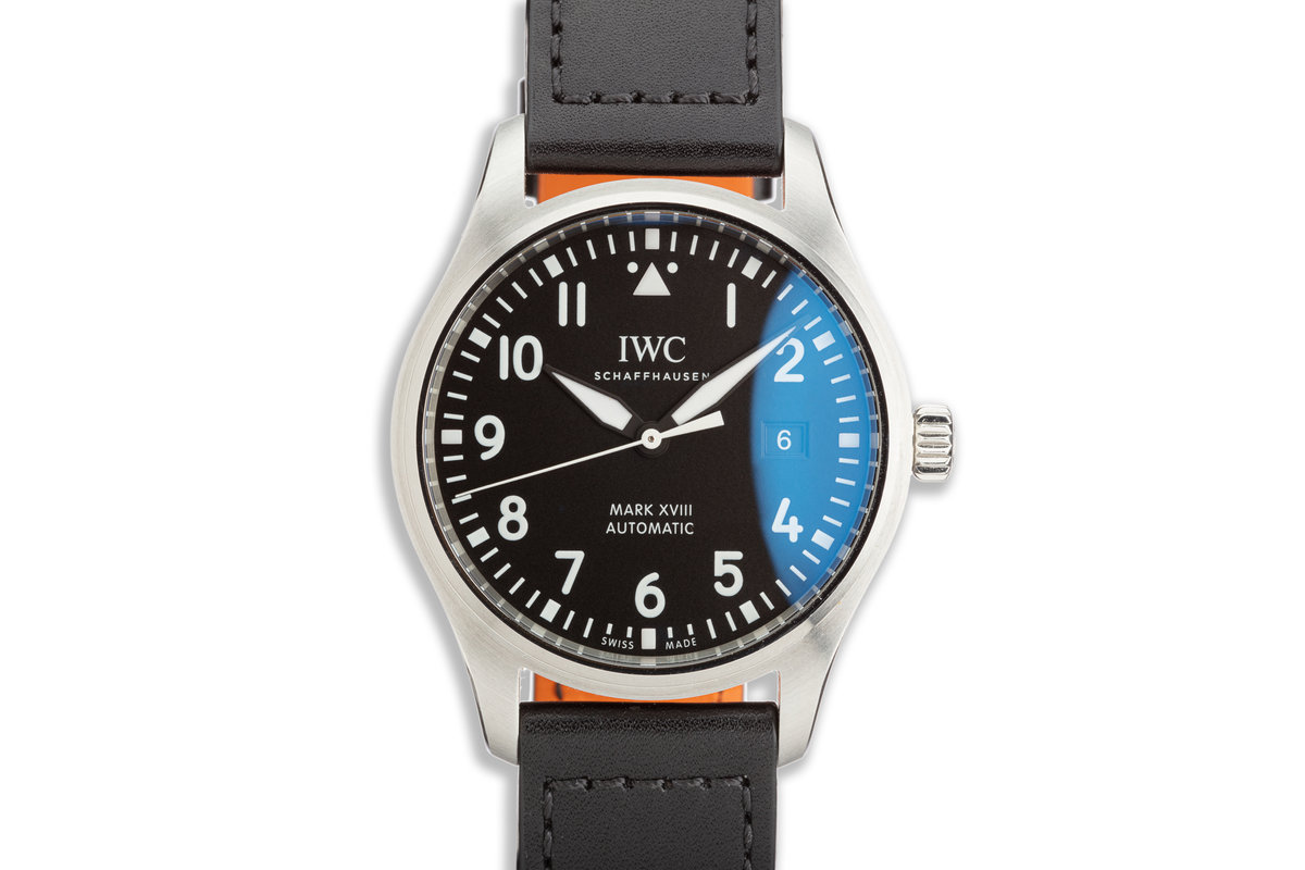 2020 IWC Pilot's Watch Mark XVIII with Box and Papers photo, #0