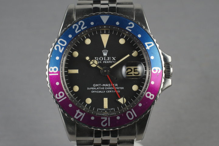 1976 Rolex GMT 1675 with Mark 1 Dial photo