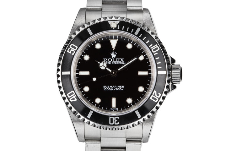 1999 Rolex Submariner 14060 with SWISS Only Dial photo