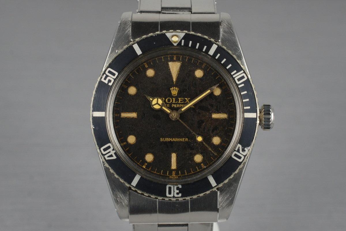 1962 Rolex Submariner 5508 Tropical Dial photo, #0