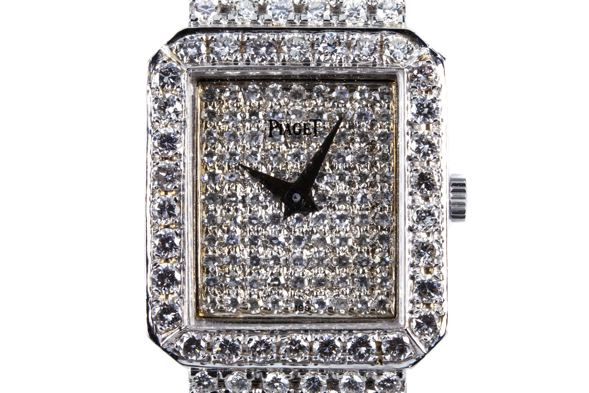 Piaget 18K White Gold with 10.38 total Carat Weight of Diamonds photo, #0