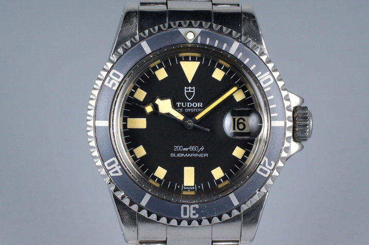 1981 Tudor Submariner 94110 Black Snowflake photo