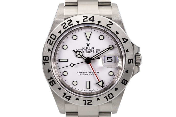 Rolex Explorer II 16570 with 3186 Movement photo