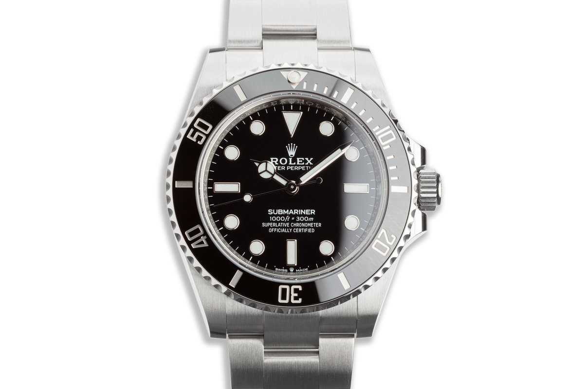 2020 41mm Rolex Submariner No-Date 124060 with Box & Card photo, #0