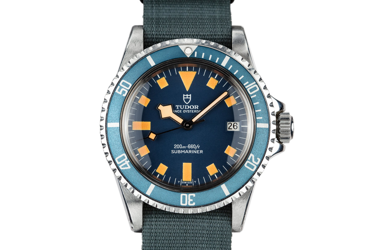 1978 Tudor Snowflake Submariner 94110 Blue Dial photo, #0