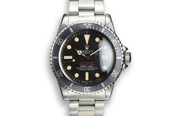 1975 Rolex Double Red Sea-Dweller 1665 photo