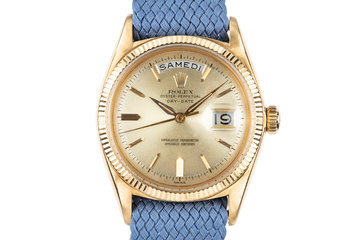 1960 Rolex YG Day-Date 1803 photo