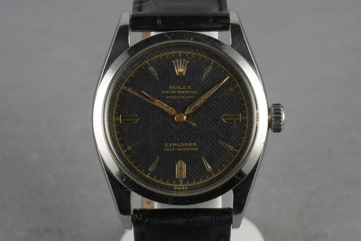 1953 Rolex Explorer 6298 with Gilt Waffle Dial photo