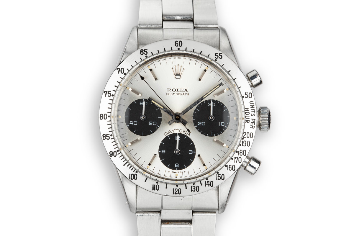 1969 Rolex Daytona 6239 Silver Dial photo, #0