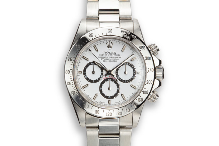 1997 Rolex Zenith Daytona 16520 White Dial with Box photo