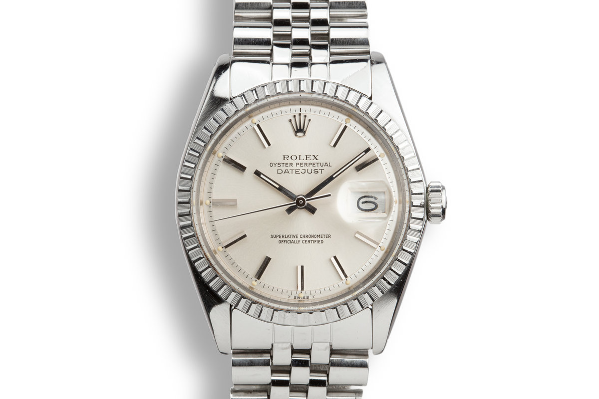1975 Rolex DateJust 1603 Silver Dial photo, #0