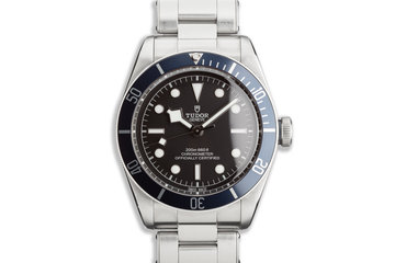 2020 Tudor Heritage Black Bay 79230B with Box and Card photo