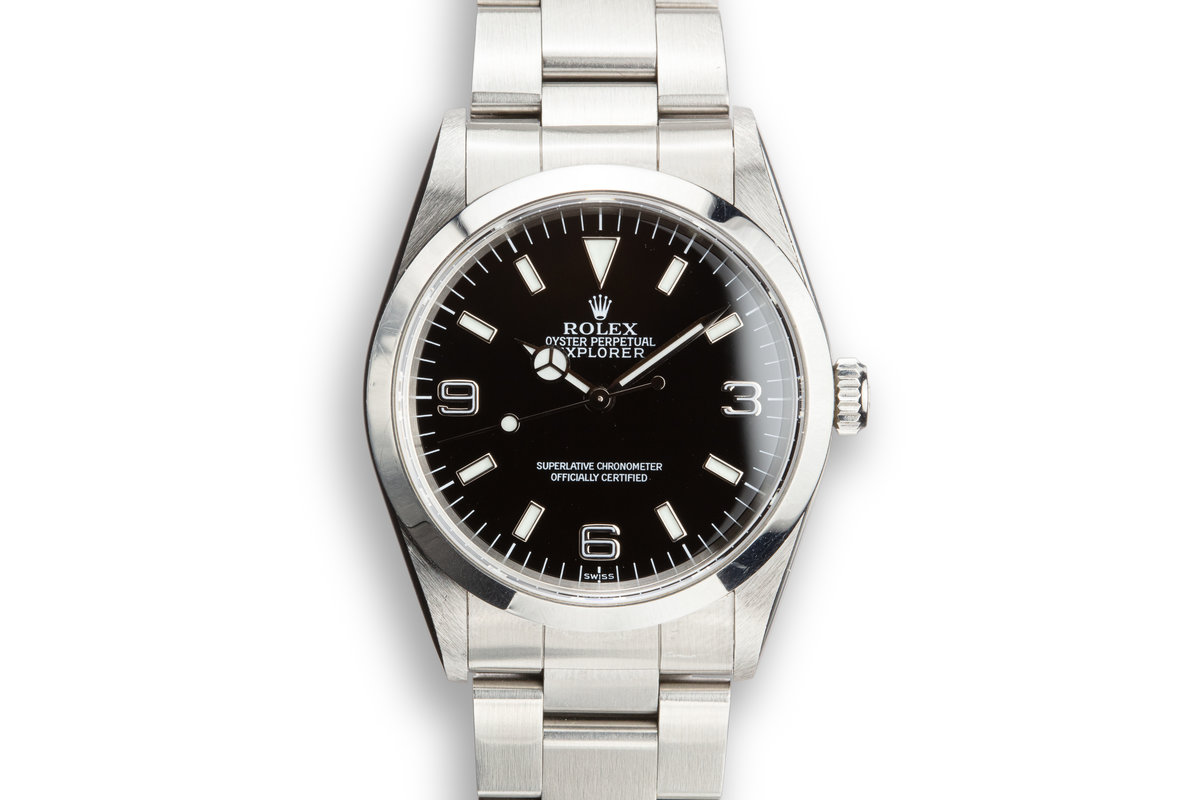 "1998 Rolex Explorer 14270 ""SWISS"" Only Dial photo, #0"