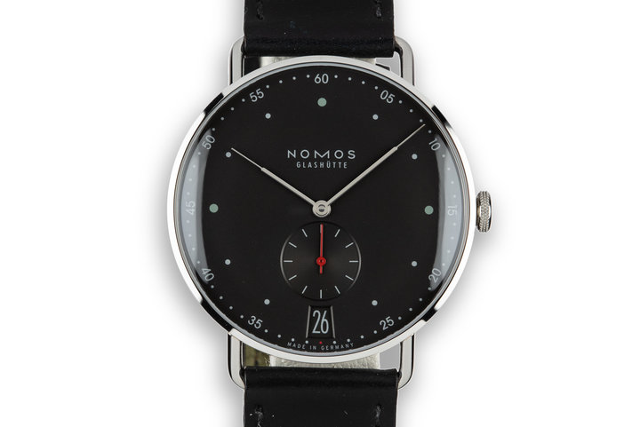 2015 Nomos Glashütte Metro 38 Date Metro 1236 photo