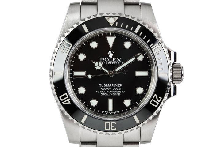 Rolex Submariner 114060 photo