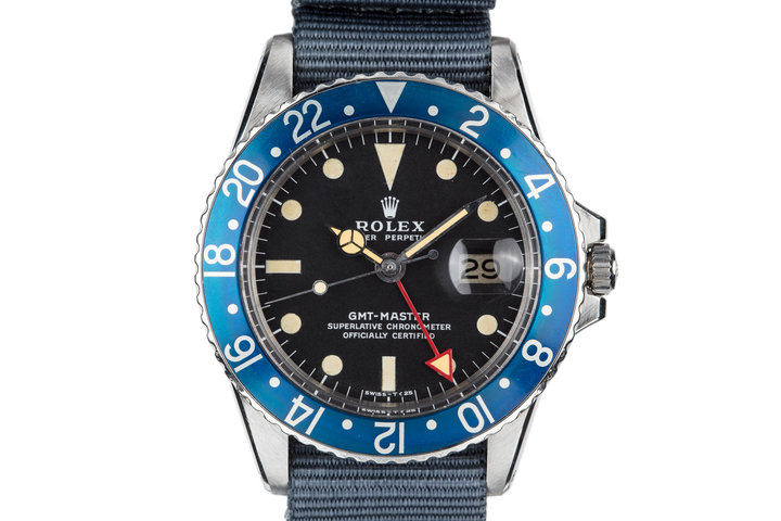 1972 Rolex Blueberry GMT-Master 1675 with Red GMT Hand photo