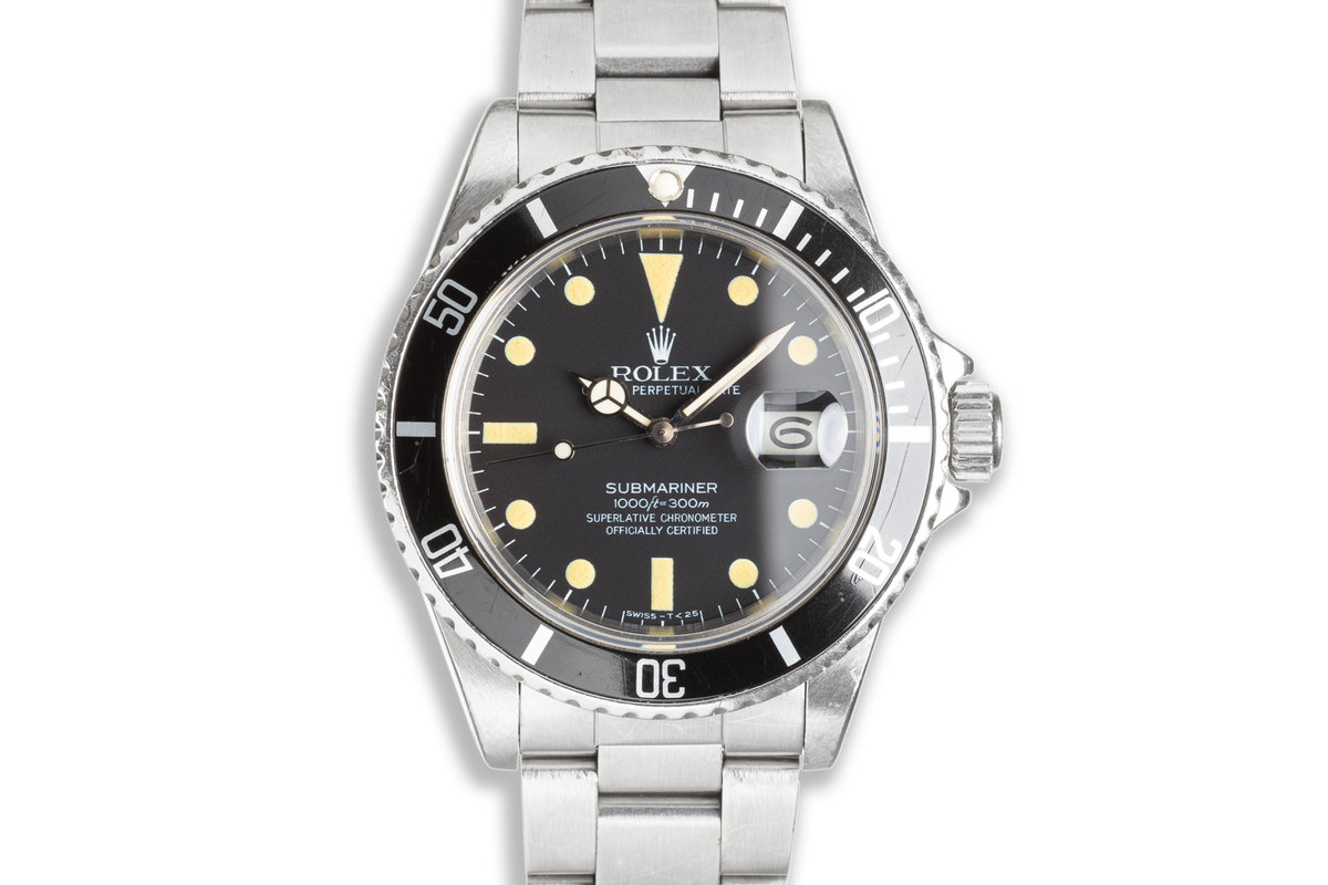 1982 Rolex Submariner 16800 with Box & Papers photo, #0