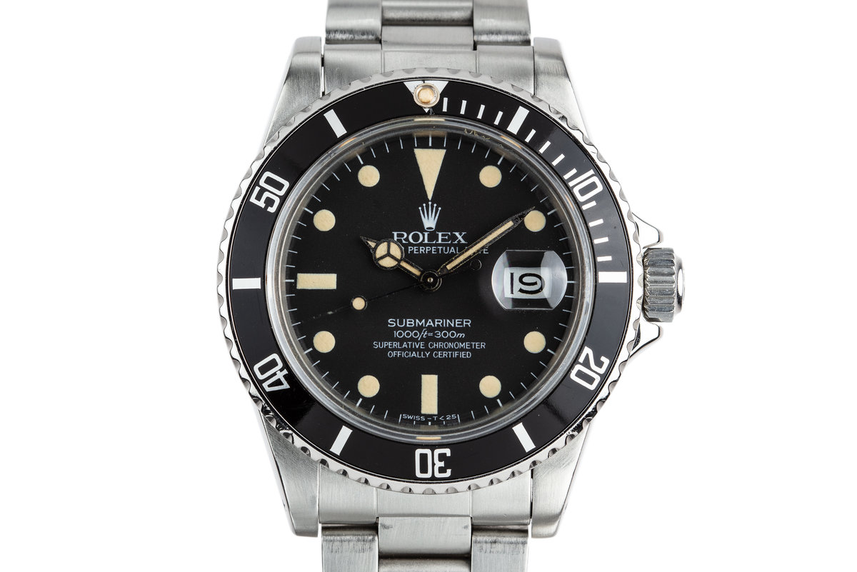 1981 Rolex Submariner 16800 Matte Dial photo, #0