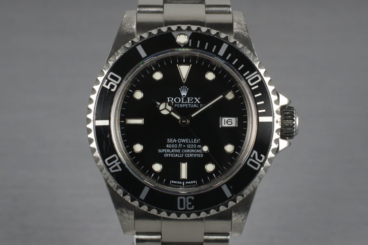 2004 Rolex Sea Dweller 16600 with Box and Papers photo