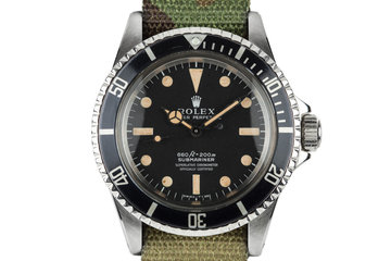 1966 Rolex Submariner 5512 photo