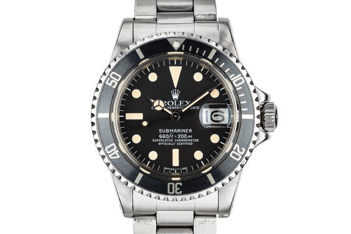 1978 Rolex Submariner 1680 with Box and Papers photo