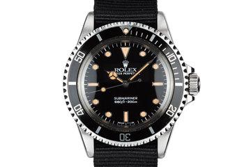 1985 Rolex Submariner 5513 Glossy Dial photo