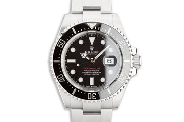 2019 Rolex Red Sea-Dweller 126600 with Box & Card photo