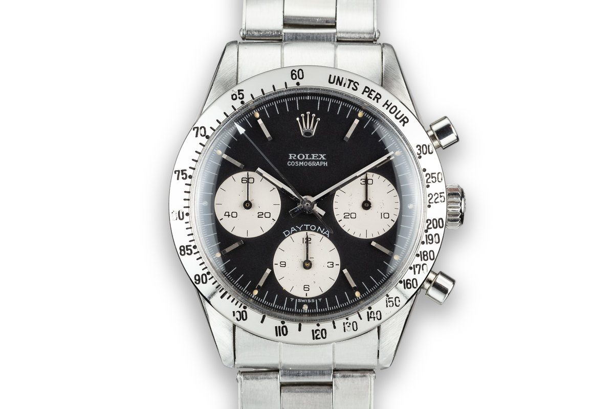 "1964 Rolex Daytona 6239 Black ""Blue Daytona""  Dial photo, #0"