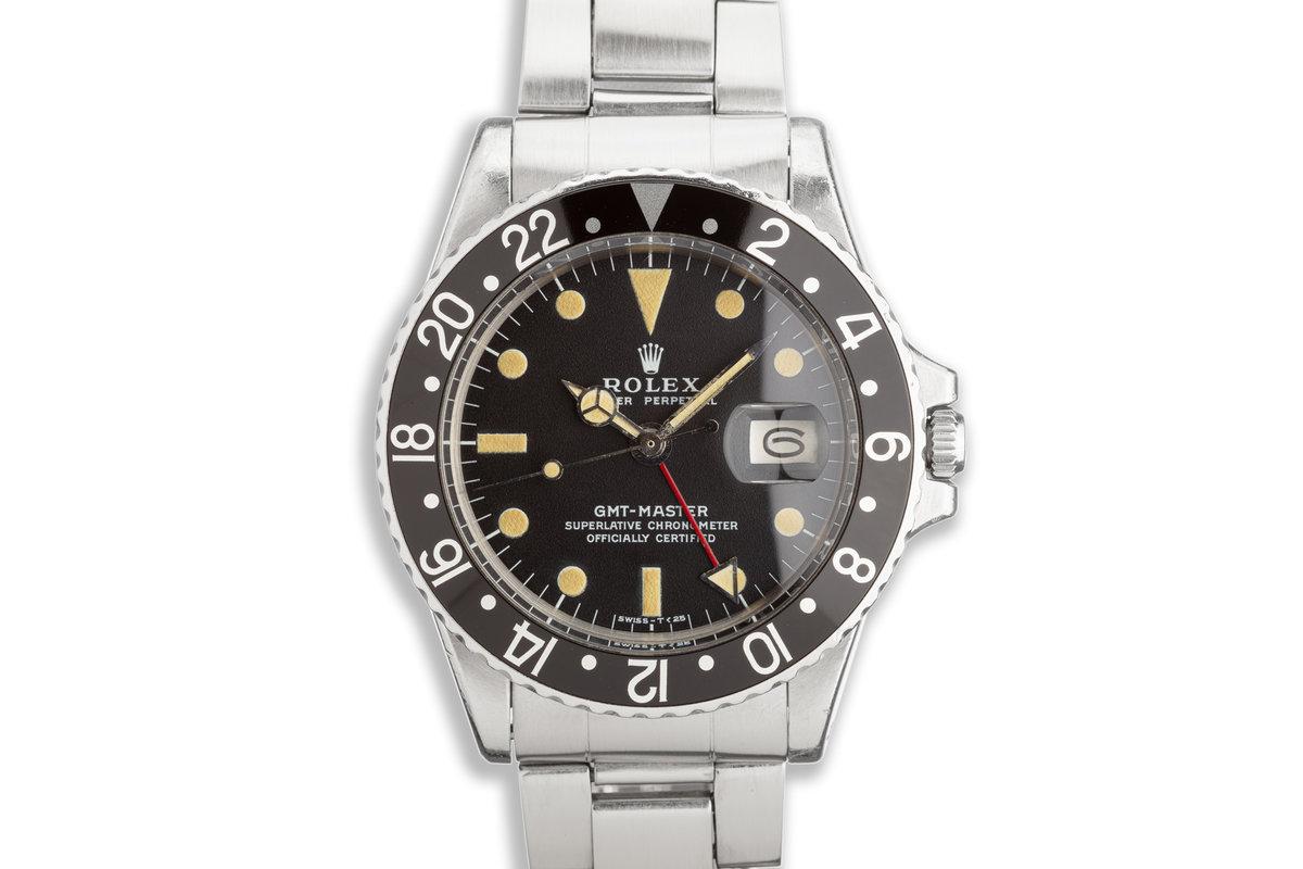 1971 Vintage Rolex GMT-Master 1675 photo, #0