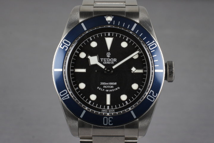 2014 Tudor Black Bay 79220OB with Box and Papers MINT photo